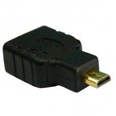 Adaptador HDMI Fêmea x Micro HDMI Macho