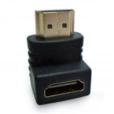 Adaptador HDMI 90 Graus em L Macho x Fêmea