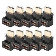 Adaptador HDMI 270 Graus Macho x Fêmea com 10 unidades ADA-3125