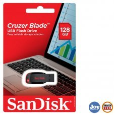 Pen Drive 128GB Cruzer Blade SDCZ50 Preto