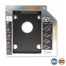 Adaptador Caddy Hd SSD Sata para Notebook Drive 12.7mm
