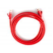 Cabo de Rede 5 metros Cat5e Vermelho Plus Cable