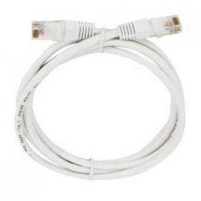 Cabo de Rede 2,5 metros Cat5e Branco Plus Cable