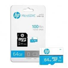 Cartão de Memória Micro SD 64GB Class10 HFUD064-1U1BA HP