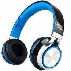 Headphone com Microfone Hm-750Mv Híper Música Fashion Infokit Azul