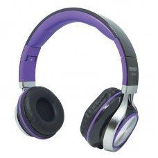 Headphone com Microfone Hm-750Mv Híper Música Fashion Infokit Roxo