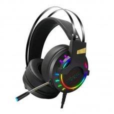 Headphone Com Microfone Usb Gamer SH-FO-Q10 Shinka