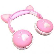 HeadPhone com Orelhas de Gato Wireless BK1