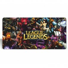 Mouse Pad Gamer Extra Grande League of Legends Champions 650mm x 320mm