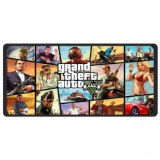 Mouse Pad Gamer Extra Grande Grand Theft Auto