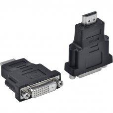 Adaptador DVI 24+1 Fêmea X HDMI Macho Shinka