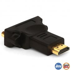 Adaptador conversor DVI 24 + 5 Fêmea para HDMI Macho Lelong