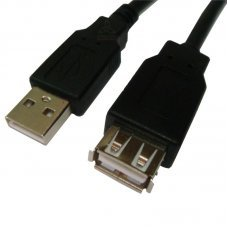 Cabo Extensor USB 2.0 AM x AF 5.0m PC-USB5002 - Plus Cable