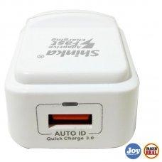 Carregador Turbo USB 3.0 SH-T003 Shinka