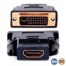 Conversor Adaptador DVI X HDMI 1080P Shinka