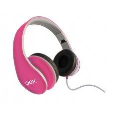 Headset com Microfone Sense Rosa HP100 Oex