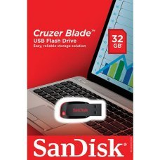 Pen Drive 32GB Sandisk Cruzer Blade SDCZ50, pendrive