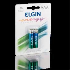 Pilha AAA Alcalina com 2 82154 Elgin