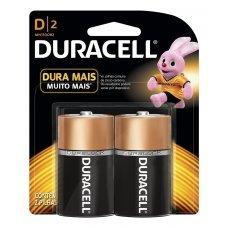 Pilha D Alcalina com 2 MN1300B2 Duracell
