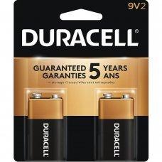Bateria 9V Alcalina com 2 MN1604B2 Duracell