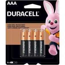 Pilha AAA Alcalina com 8 MN2400B8 Duracell