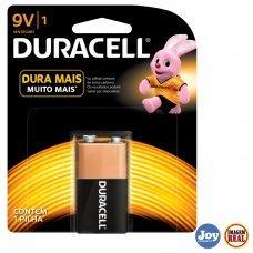 Bateria Alcalina Duracell com 1 UN 9V