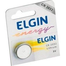 Pilha Bateria Cr2032 Lithium 3v Elgin