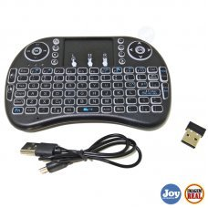 Mini Teclado Led Wireless Sem Fio Mouse Smart Tv Tablet Pc