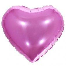 Balão Metalizado Coração Rosa 18' 45cm 8537 Make+