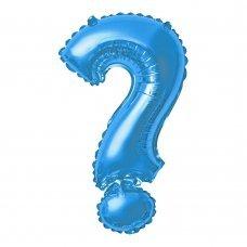Balão Metalizado Azul Ponto de Interrogação ? 40' 100cm 8454 Make+