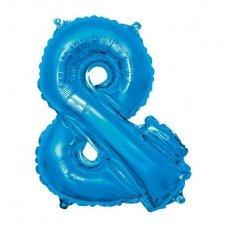 Balão Metalizado Azul Símbolo & 40' 100cm 8455 Make+