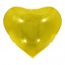 Balão Metalizado Coração Dourado 18' 45cm 8534 Make+
