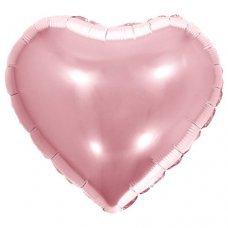 Balão Metalizado Coração Rose 18' 45cm 8539 Make+