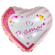 Balão Metalizado Coração Te Amo 18' 45cm 8571 Make+