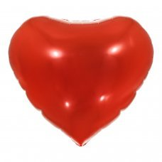 Balão Metalizado Coração Vermelho 18' 45cm 8536 Make+