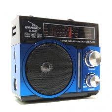 Caixa de Som receptor de radiodifusão D-1602 Grasep