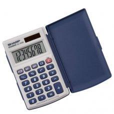 Calculadora 8 dígitos EL-243SB Sharp
