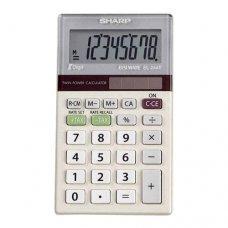 Calculadora 8 dígitos EL-244TB Sharp