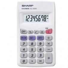 Calculadora 8 Dígitos EL-233SB Sharp
