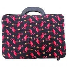 Capa para Notebook 14 polegadas com Estampa de Flamingo
