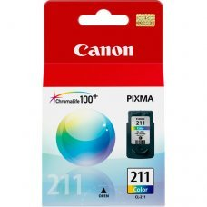 Cartucho de Tinta Canon CL-211 Tricolor Original 9ml - Pixma IP2700 IP2702 MP280 MP495 MX410