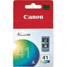 Cartucho de Tinta Canon CL-41 Tricolor Original 12ml - Pixma Series IP1300 IP1800 IP2200 MP220