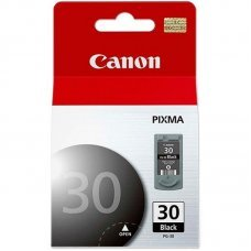Cartucho de Tinta Canon PG-30 Preto Original 11ml - Pixma Series IP1800 IP2600 MP140 MP190 MP470