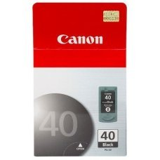 Cartucho de Tinta Canon PG-40 Preto Original 16ml Pixma Series IP1300 IP1800 IP2200 MP220