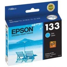 Cartucho de Tinta Epson T133220 T133 T1332 Ciano T25 TX125 TX420W TX123 TX320F Original 5ml