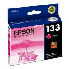 Cartucho de Tinta Epson T133320 T133 T1333 Magenta T25 TX125 TX420W TX123 TX320F Original 5ml