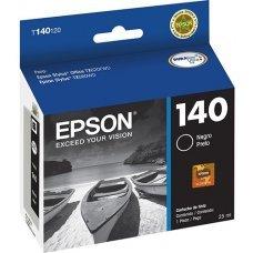 Cartucho de Tinta Epson T140120 T140 T1401 Preto T42WD TX560WD TX620FWD Original 25 ml