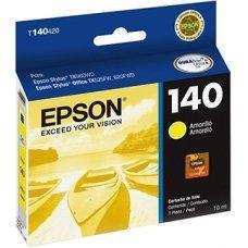 Cartucho de Tinta Epson T140420 T140 T1404 Amarelo TX620FWD TX560WD T42WD Original 10 ml