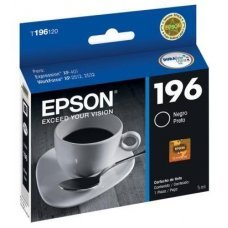 Cartucho de Tinta Epson 196-1 Preto Original 5ml T196120 - Expression XP401 XP411 WF2532