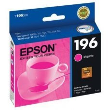 Cartucho de Tinta Epson 196-3 Magenta Original 4ml T196320 - Expression XP204 XP411 WF2532